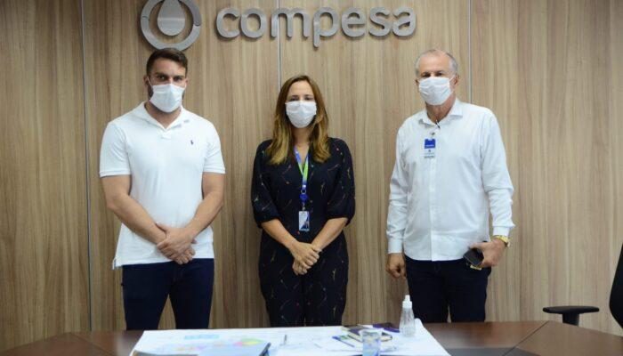 Prefeitura de Limoeiro firma parceria com a Compesa para melhoria no abastecimento de água