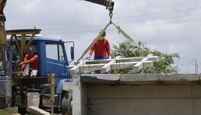 Prefeitura retoma obra e promove reforços estruturais em pontes de acesso à Zona Rural de Limoeiro