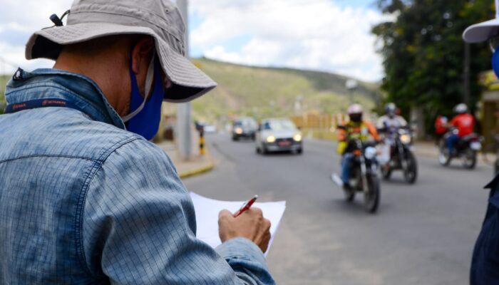 Engenharia de Trânsito do Detran inicia estudo para melhoria da sinalização de Limoeiro