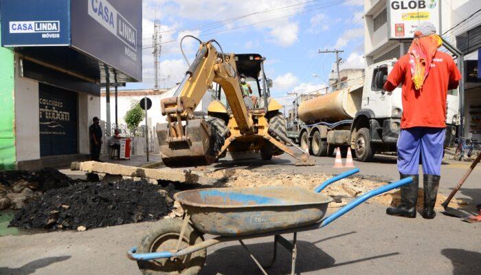 Conclusão de obra evita transtornos para moradores e comerciantes do Centro de Limoeiro