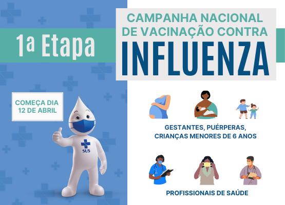 Prefeitura Limoeiro inicia Campanha de Vacinação contra a Gripe