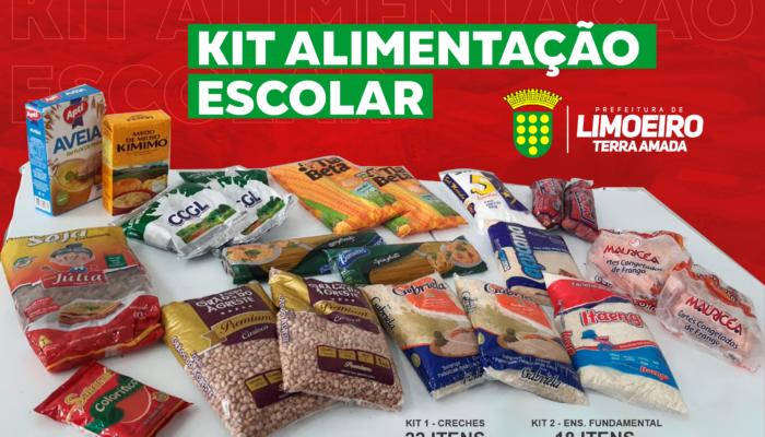Prefeitura distribui Kit alimentação para estudantes a partir desta segunda (12)