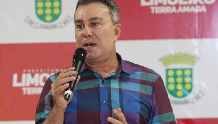 Deputado Federal Ricardo Teobaldo anuncia R$ 26 milhões para investimentos em Limoeiro